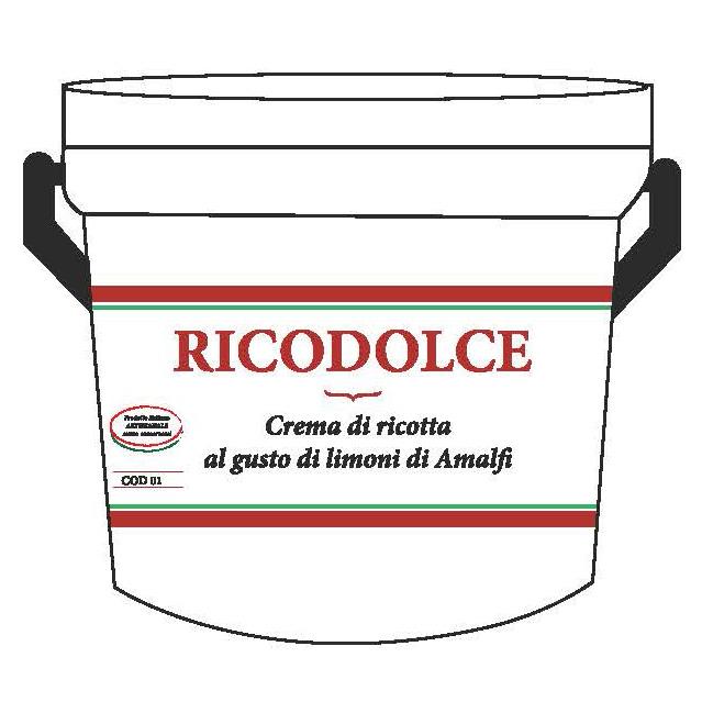 Crema di Ricotta al gusto di Limoni di Amalfi