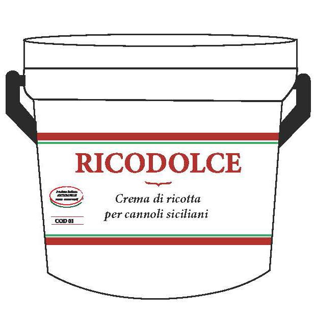 Crema di Ricotta per Cannoli Siciliani