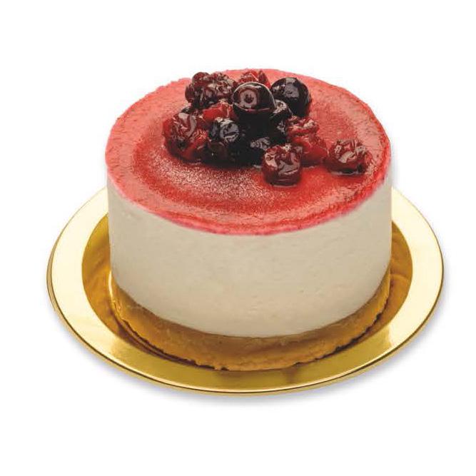 Monoporzione Cheesecake Cruda ai Frutti di Bosco